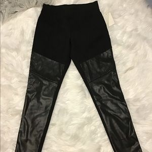 NWT14th and Union faux leather leggings